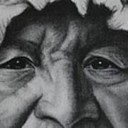 native Indian Print by Anastasis  Anastasi