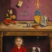 Naughty Child Print by Leah Saulnier The Painting Maniac