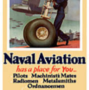 Naval Aviation Has A Place For You Print by War Is Hell Store
