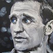 Neal Cassady - On The Road Print by Eric Dee