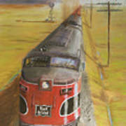 Near Thistle  Ks Print by Christopher Jenkins