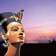 Nefertiti Print by Debbie McIntyre