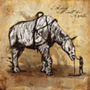 Neobedouin - Cowboy Print by Mandem