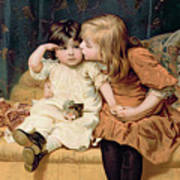 Nevermind Print by Frederick Morgan
