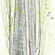 New Leaves Print by Mui-Joo Wee