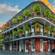 New Orleans House Print by Inge Johnsson