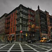 New York City - Soho 006 Print by Lance Vaughn
