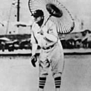 New York Yankees. Babe Ruth, Holding Print by Everett