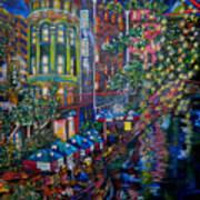 Night On The River Print by Patti Schermerhorn