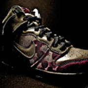 Nike Dunks Print by Allison Badely