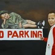 No Parking Print by Joni McPherson