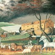 Noah's Ark Print by Edward Hicks