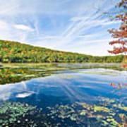 Northern New Jersey Lake Print by Ryan Kelly