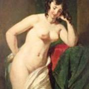 Nude Print by William Etty