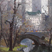 Nyc Central Park Print by Ylli Haruni