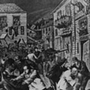 October 31, 1880 Anti-chinese Riot Print by Everett