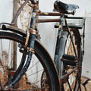 Old Bike II Print by Robert Meanor