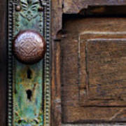 Old Door Knob Print by Joanne Coyle