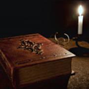 Old Tome Still Life II Print by Tom Mc Nemar