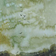 On Golden Pond Print by Elizabeth Carr