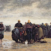 On The Shore Print by Jacques Eugene Feyen