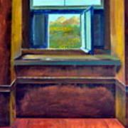 Open Window Print by Michelle Calkins