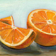 Orange Print by Sarah Lynch