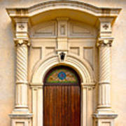Ornate Entrance Print by Christopher Holmes