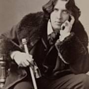 Oscar Wilde, 1854-1900 Irish Writer Print by Everett