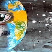Our Cosmic Origin Print by Paulo Zerbato