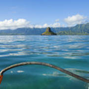 Outrigger On Ocean Print by Dana Edmunds - Printscapes