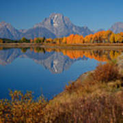 Oxbow Bend Print by Idaho Scenic Images Linda Lantzy