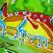 Pa Froggy Print by Kelly     ZumBerge
