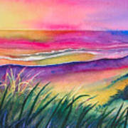 Pacific Evening Print by Karen Stark