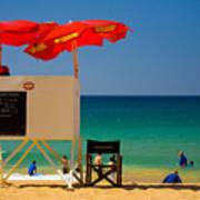 Palm Beach Dreaming Print by Avalon Fine Art Photography