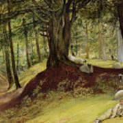 Parkhurst Woods Print by Richard Redgrave