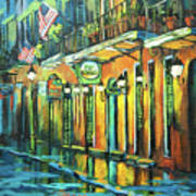 Pat O Briens Print by Dianne Parks