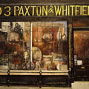 Paxton Whitfield .london Print by Tomas Castano
