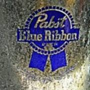 Pbr  Bucket O Beer  Print by Chris Berry