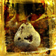 Pear Print by Bernard Jaubert