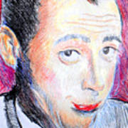 Pee Wee Herman  Print by Jon Baldwin  Art