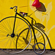Penny Farthing Love Print by Garry Gay