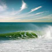 Perfect Wave Print by Carlos Caetano