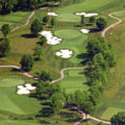 Philadelphia Cricket Club Militia Hill Golf Course 5th Hole Print by Duncan Pearson