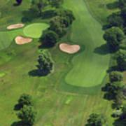 Philadelphia Cricket Club Wissahickon Golf Course 17th Hole Print by Duncan Pearson