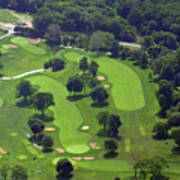 Philadelphia Cricket Club Wissahickon Golf Course 1st And 18th Holes Print by Duncan Pearson