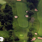 Philadelphia Cricket Club Wissahickon Golf Course 5th Hole Print by Duncan Pearson