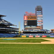 Philadelphia Phillies Stadium  Print by Brynn Ditsche