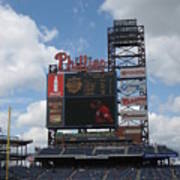 Phillies Print by Jennifer  Sweet