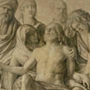 Pieta Print by Giovanni Bellini